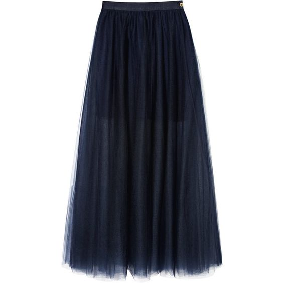 Reiss Isabella Tulle Maxi Skirt found on Polyvore