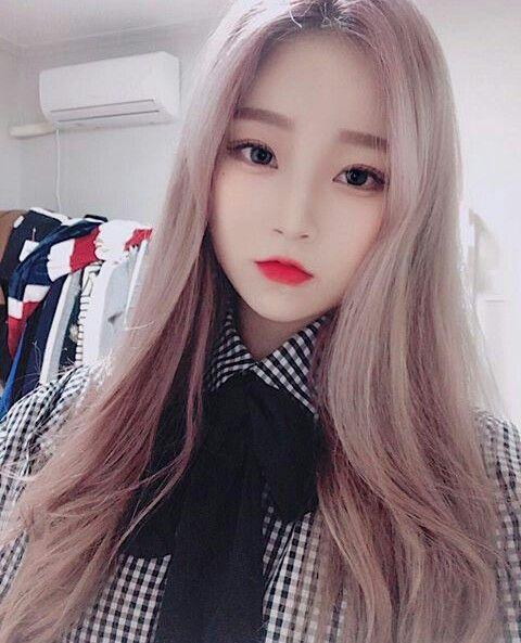 Pin Von Long Hair Girls Auf đẹp Ulzzang Mädchen Asiatische Schönheit Koreanisches Mädchen