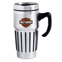 Bar & Shield Logo Travel Mug    16 oz. insulated stainless steel with Bar & Shield logo on front and back. Not microwave safe. Hand wash only. Call Wilkins to order 802.476.6104