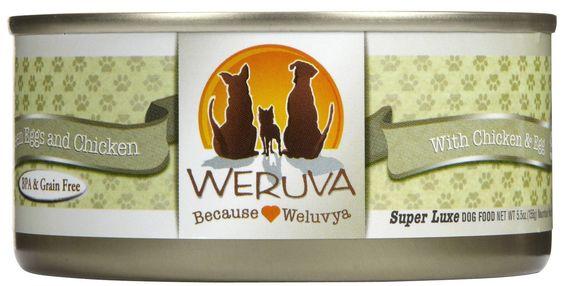 Weruva Dog Food - Green Eggs and Chicken