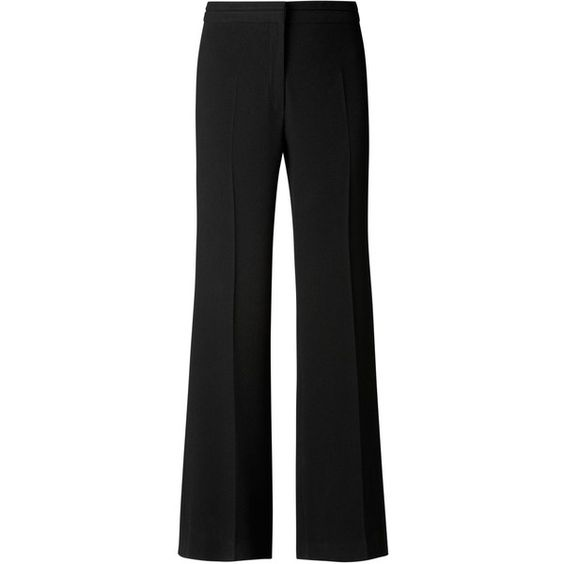 Gérard Darel Wide Trousers, Black ($250) ❤ liked on Polyvore