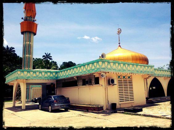 Hassanel Bolkiah Mosque Tutong District Brunei Darussalam