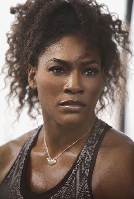 jjsinterlude:  gladi8rs:  belindapendragon:  iconicwomen:  Serena Williams  Gorgeous capture…  Absolutely gorgeous capture. Beautiful.  Why she look so angelic