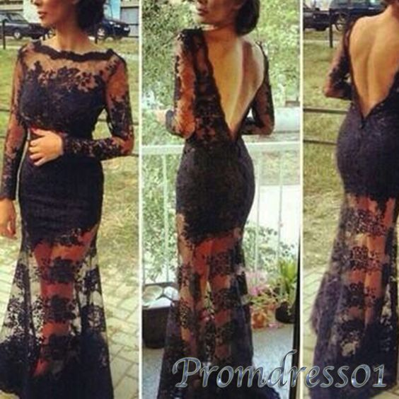 #promdress01 prom dress Luxury see thourgh open back long lace modest prom dress for teens, ball gown, maxi dress for occasions -> www.promdress01.c... #coniefox #2016prom