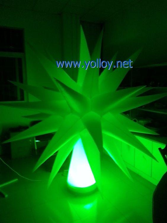 Inflatable star | #EventDecor