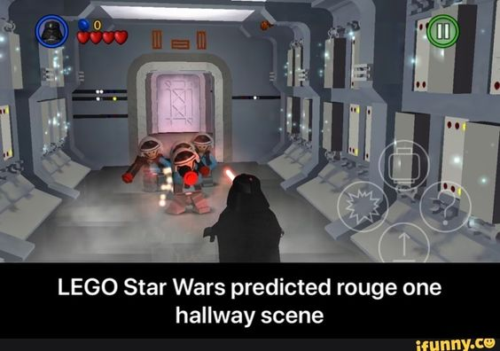 Lego Star Wars Predicted Rouge One Hallway Scene Ifunny Lego Star Wars Funny Star Wars Memes Lego Star