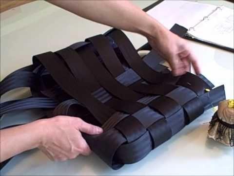 The making of an á la mode seatbelt bag