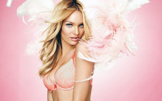 Candice Swanepoel, Victoria's Secret model. So unbelieveably gorgeous!