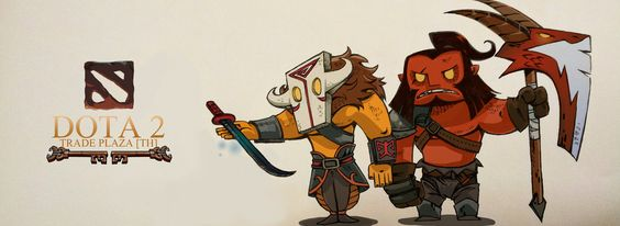 """Dota 2   """"Trade""""   by louissry"""