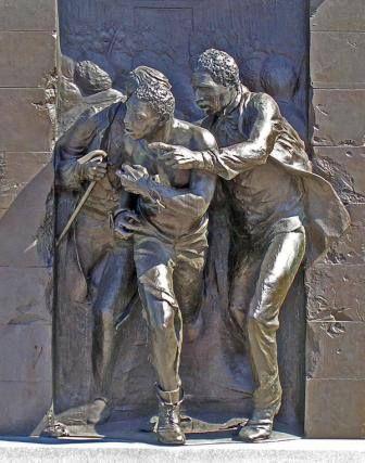 Jerry Rescue Monument Clinton Square