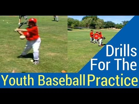 How To Set Up Baseball Drills For The Little Boppers Youtube Baseball Drills Youth Baseball Basketball Knee