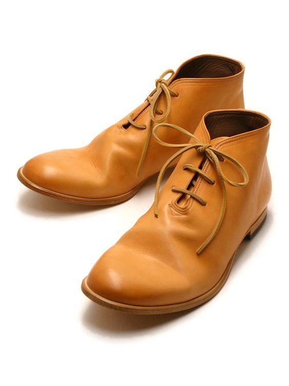MOTO Deset boots NATURAL #1609