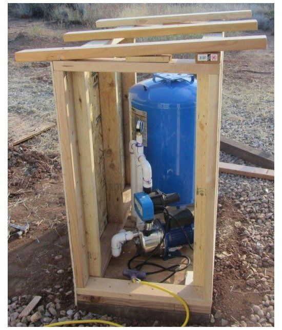 Well Pump House Plans Or Well Pump Double Carpentry Designed New House 94 Sprinkler Pump House Plans Water Well House Pump House House Layouts