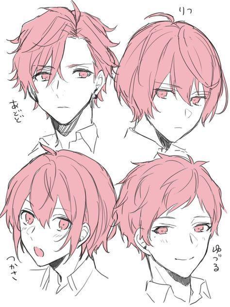 Male Hairstyles Drawingideas Boys Long Hairstyles Boys Long Hairstyles Short Curly Hairstyles Trendy Haircuts In 2020 Anime Boy Hair Manga Hair Anime Character Design