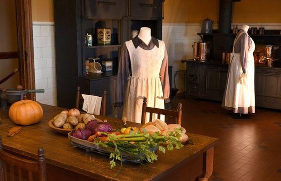 Downton' costumes show off similarities at Biltmore Estate