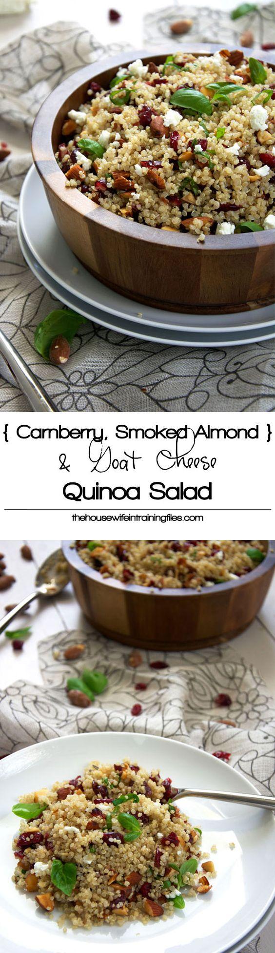 ... Balsamic Vinaigrette | Recipe | Quinoa Salad, Cranberries and Quinoa