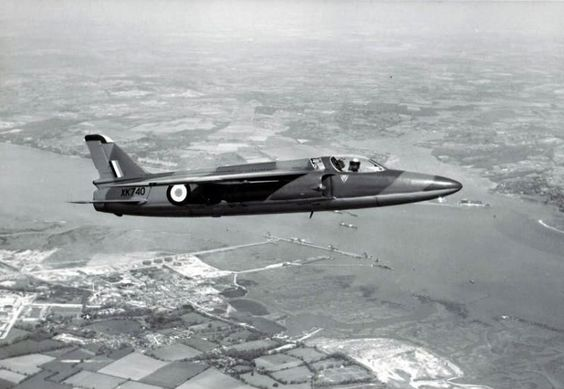 Folland Gnat F.1 XK740; first flight 6th March 1957; preserved at Solent Sky Museum, Southampton
