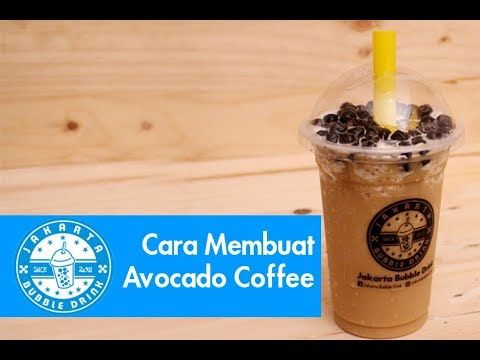 Cara Membuat Minuman Avocado Coffee Dari Powder Jakarta Bubble Drink Minuman