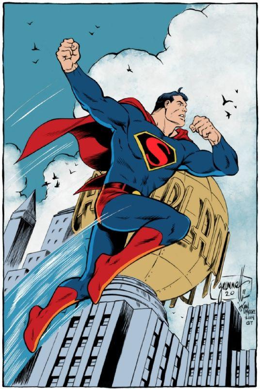 Superman by Tom Grummett, John Moore, and Gerry Turnbull *