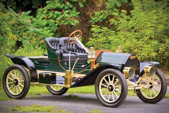 1910 Cameron Model 24 Open Back Runabout Cameron Motors