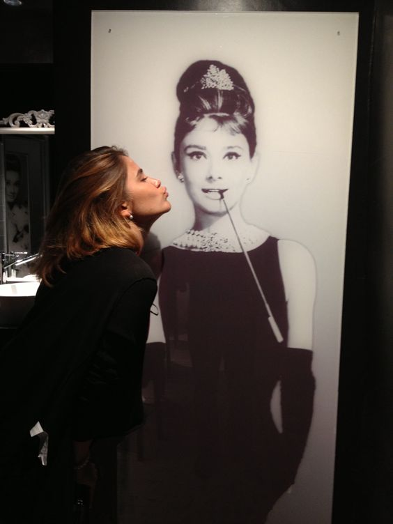 Audrey and me