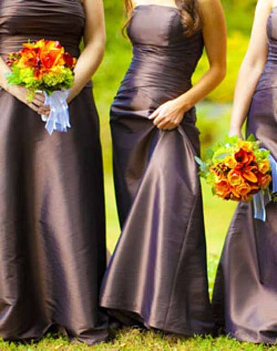Pinterest the world s catalog of ideas for Brown dresses for a wedding