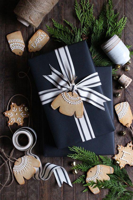 DIY Gingerbread Gift Tags