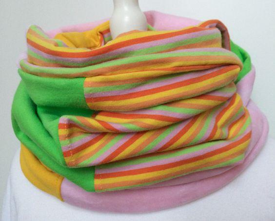 Kinder LOOP - Schlauchschal (Gelbtöne) von mission creation auf DaWanda.com