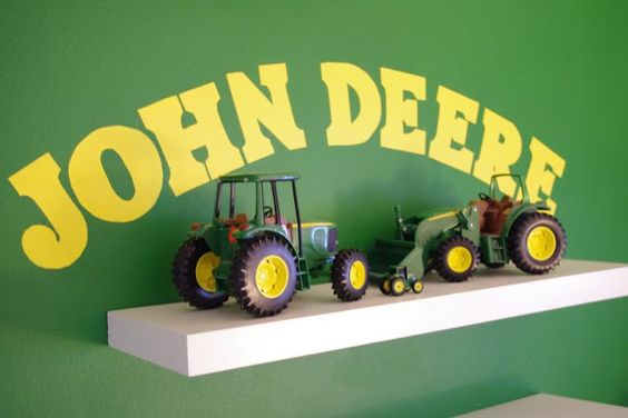 un million de petites choses: John Deere chambre Visite