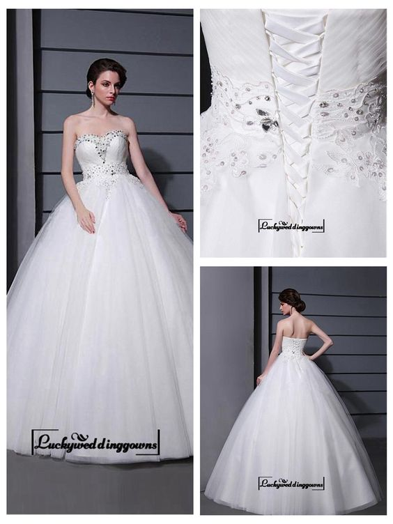 Alluring Tulle&Satin Ball gown Sweetheart Neckline Raised Waistline Wedding Dress http://www.ckdress.com/alluring-tullesatin-ball-gown-sweetheart-neckline-raised-waistline-wedding-dress-p-1563.html  #wedding #dresses #party #Luckyweddinggown #Luckywedding #design #style #weddingdresses #bridaldresses #love #me #cute #beautiful #girl #shopping #lovely #clothes #instagood #follow #fashion