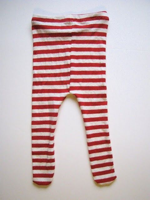 baby tights from tshirts, tutorial on Made by Rae