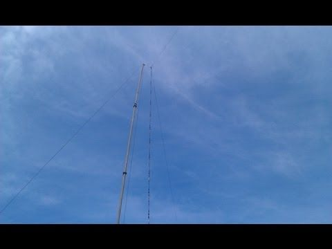 A Shortened Multiband Antenna About 23m Long For 80m 10m Bands With A Low Swr 1 3 On 80m And 40m And 3 Till 10m Bandwith Antenna Ham Radio Radio Communication