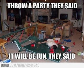 Throw a party they said