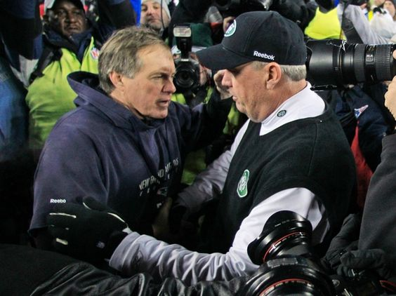 Tomlinson: Rex Ryan once said he planned on punching Bill Belichick