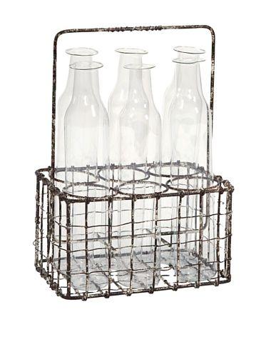 Craiova Glass Bottle Holder