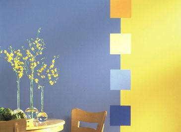 Transitioning Color on a wall shared by two rooms