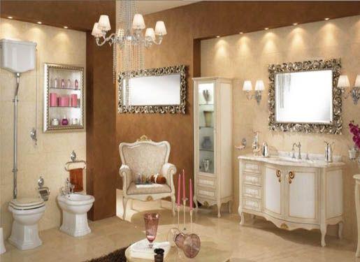Luxury Bathroom Design With Classic Style - HOME DESIGN   INTERIOR DESIGN   FURNITURE