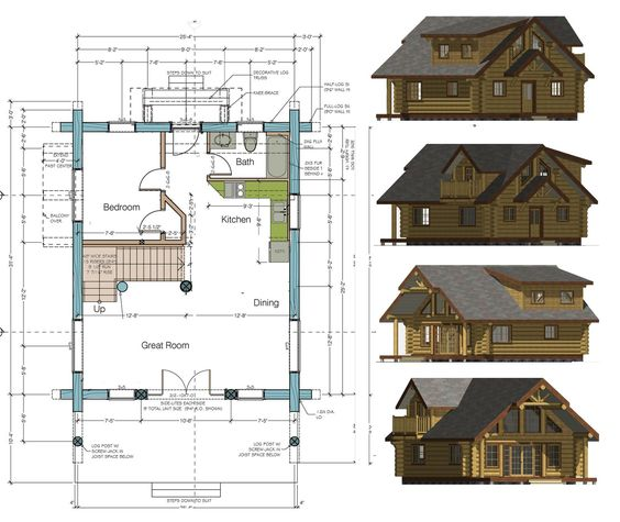 SCALE HOUSE PLANS « Home Plans
