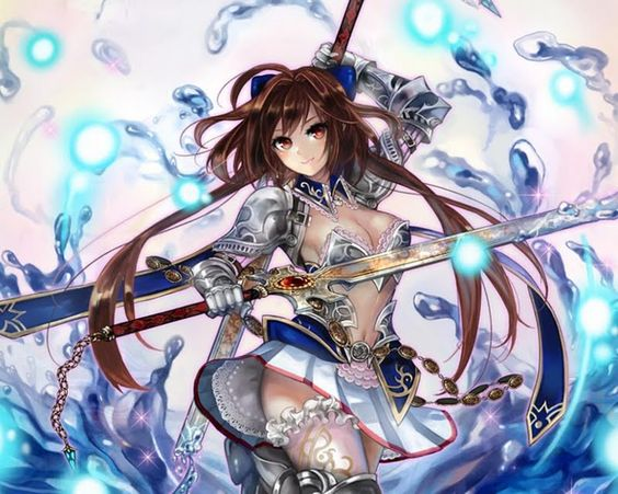 Anime girl warior any anime with girl warriors fighters - Anime female warrior ...