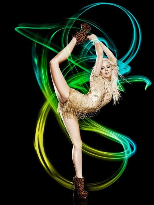 Kimberly Wyatt Flexible