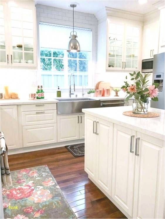 Unfinished Cabinets Lowes Depot Unfinished Cabinets Custom White Modern Kitchen Farmhouse Chic Kitchen White Kitchen Rustic