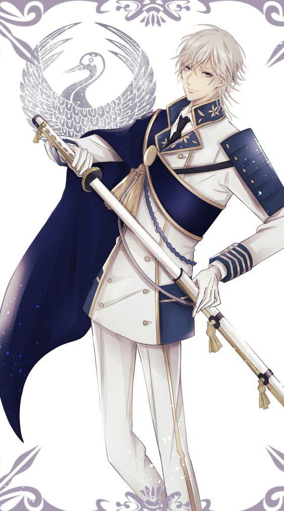 鶴の家紋の刀剣乱舞