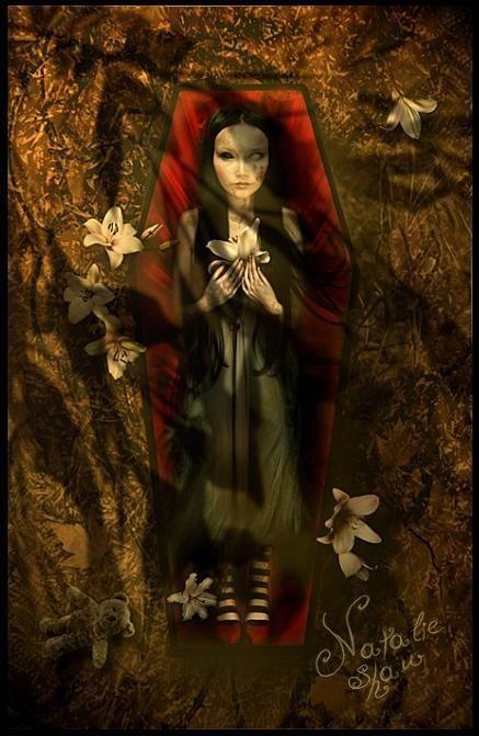 Tomb Lilies by Natalie Shau