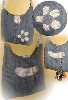 60% Alles drin (Farbenmix) aus alter Jeans
