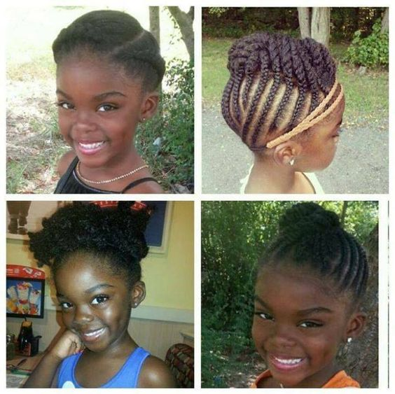 Caring For Your Little Girl S Hair Kl S Naturals