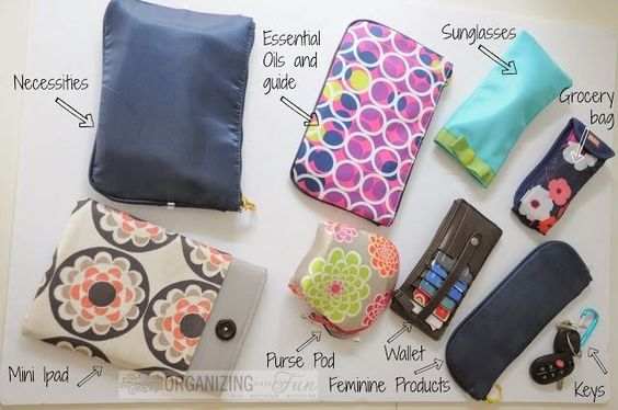 Organizing your purse is easy with this new innovative compact purse-bag! Click on the picture to find out how!