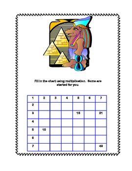 math worksheet : egyptian math worksheets  activity 2  ancient egypt unit  : Egyptian Math Worksheet