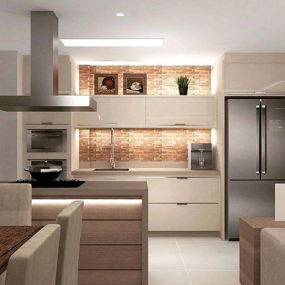 Já amaniii essa cozinha!!! Queria pra mimmmm  Projeto @elaine_castanheira_arquitetura  Sigam tbm: @carolcantelli_interiores
