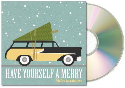 CD sleeve printable clip art template