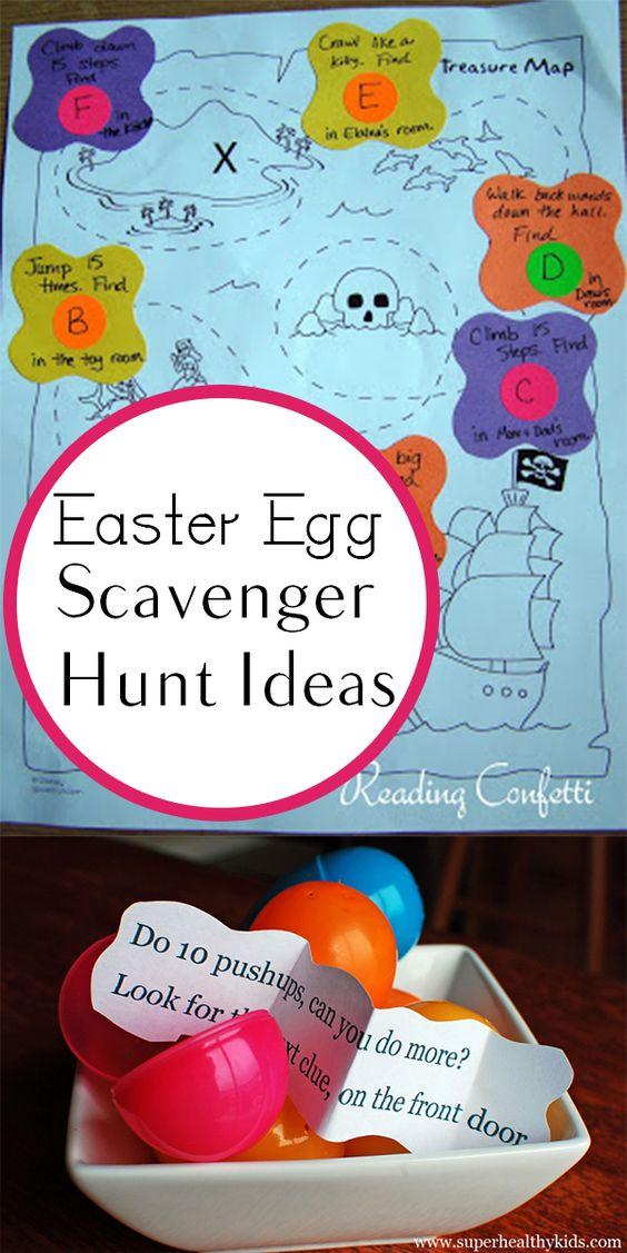 Easter Egg Treasure Hunt Ideas For Kids And Family